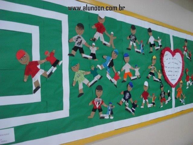 44 Ideias De Murais Para O Dia Dos Pais Educacao Infantil