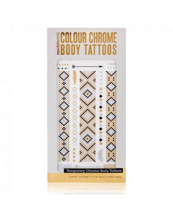MODELS OWN Colour Chrome Body Tattoo Scales - Jetzt kaufen auf www.makeupland.de