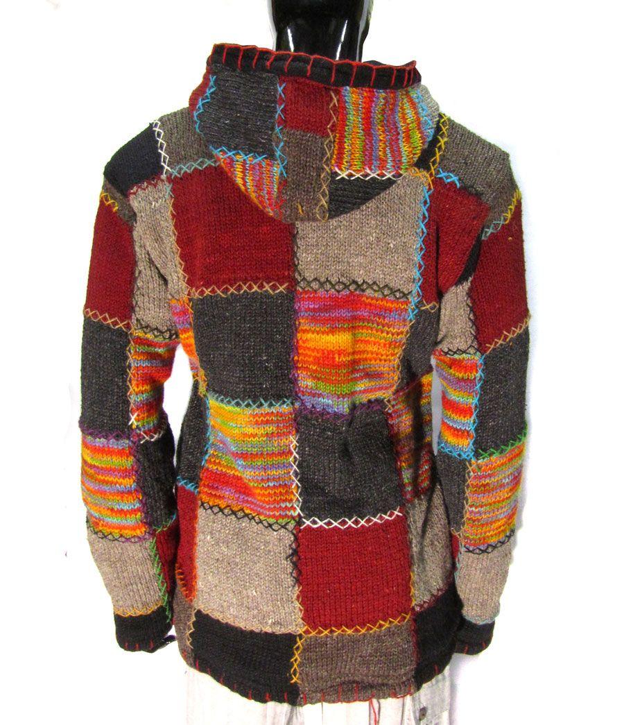 mens patchwork jacket eBay