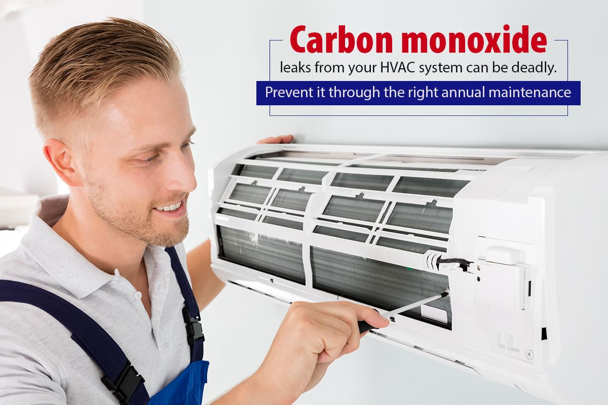 Does your annual HVAC maintenance contract include a