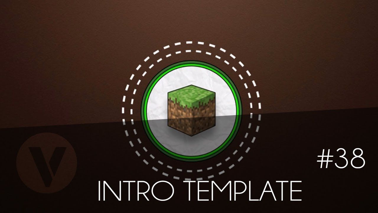 Free 2D Intro #38 | Minecraft Sony Vegas Template | Дмитрий Кузьмин ...