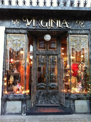 The Eponymous Virginia Clothing And Antiques Shop In London England