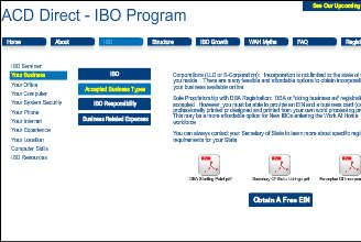 ACD Direct Independent Contractor Introduction HOME
