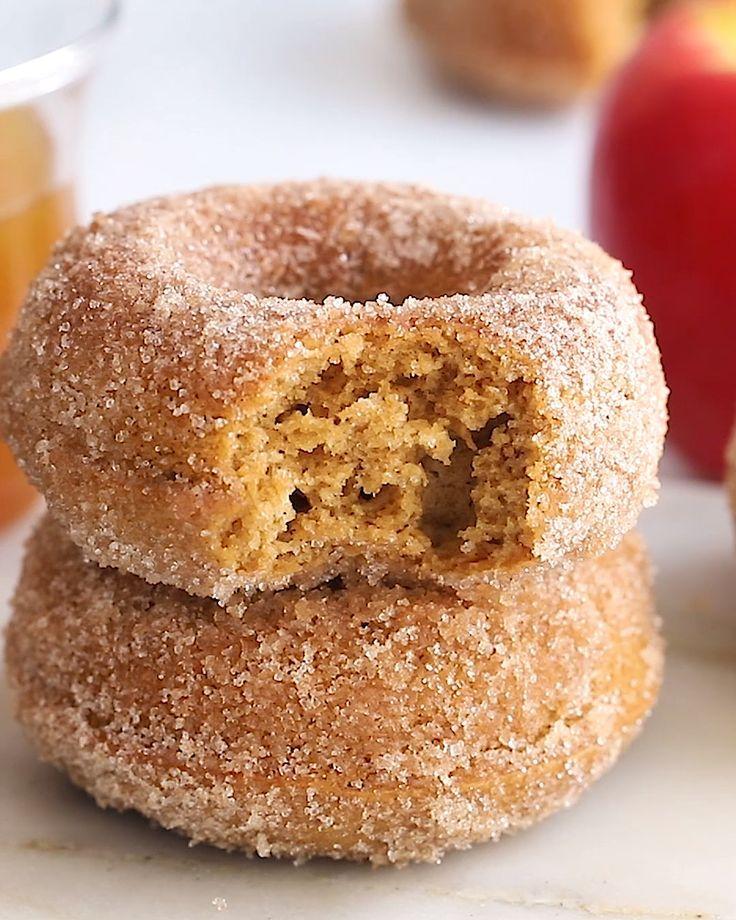 Healthy Baked Apple Cider Donuts   Eating Bird Foo