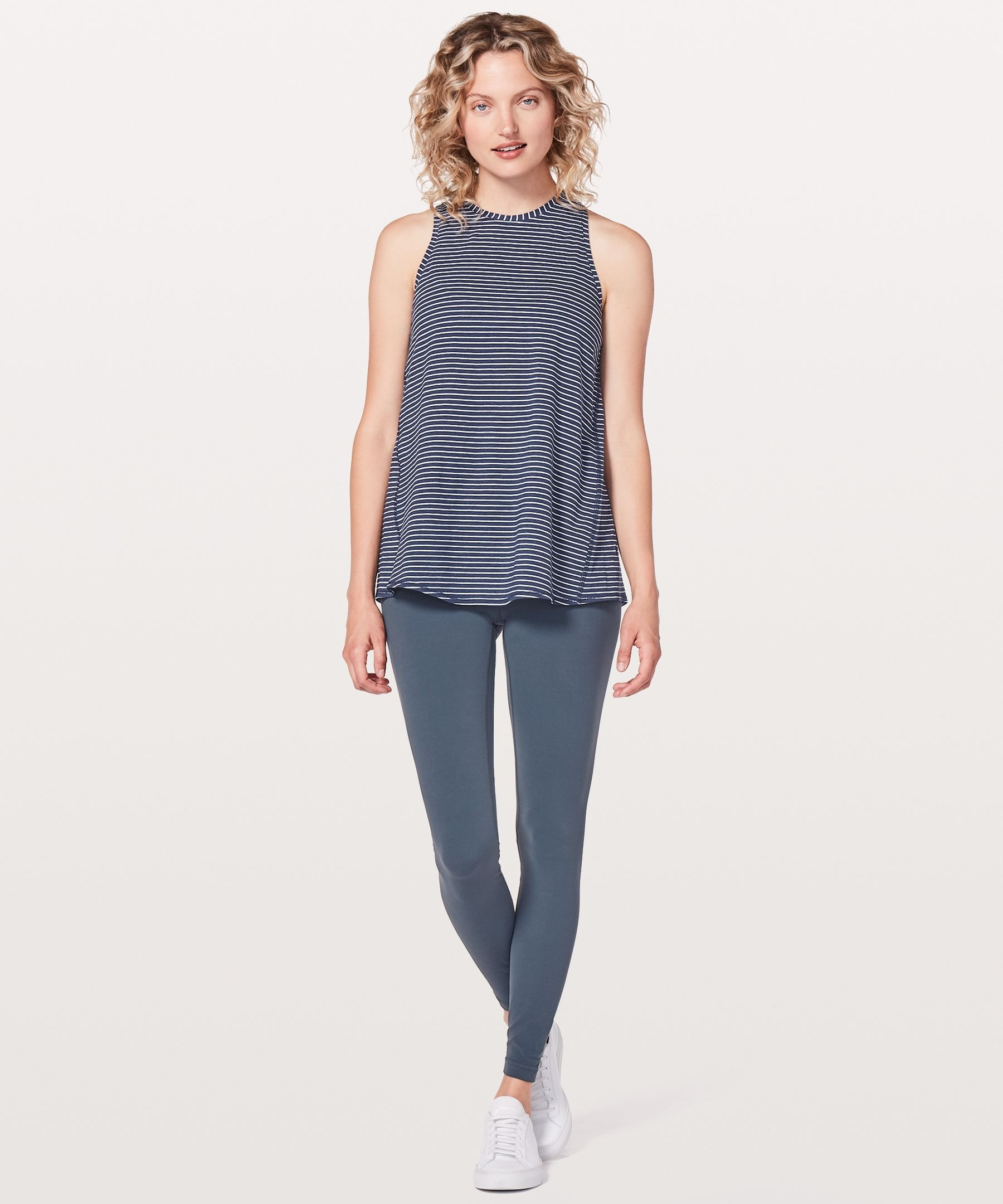 881486acbf Shop the All Tied Up Tank | Women's Yoga Tank Tops. Wear this tank two ways:  layer it on long and loose or tie up the back to secure in place during ...