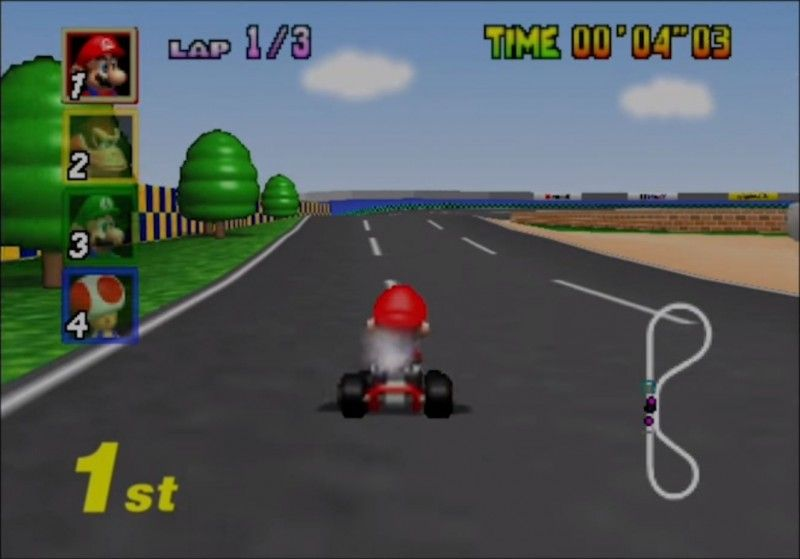 Nintendo Used Some Pretty Cool Tricks To Get Mario Kart 64 To Run
