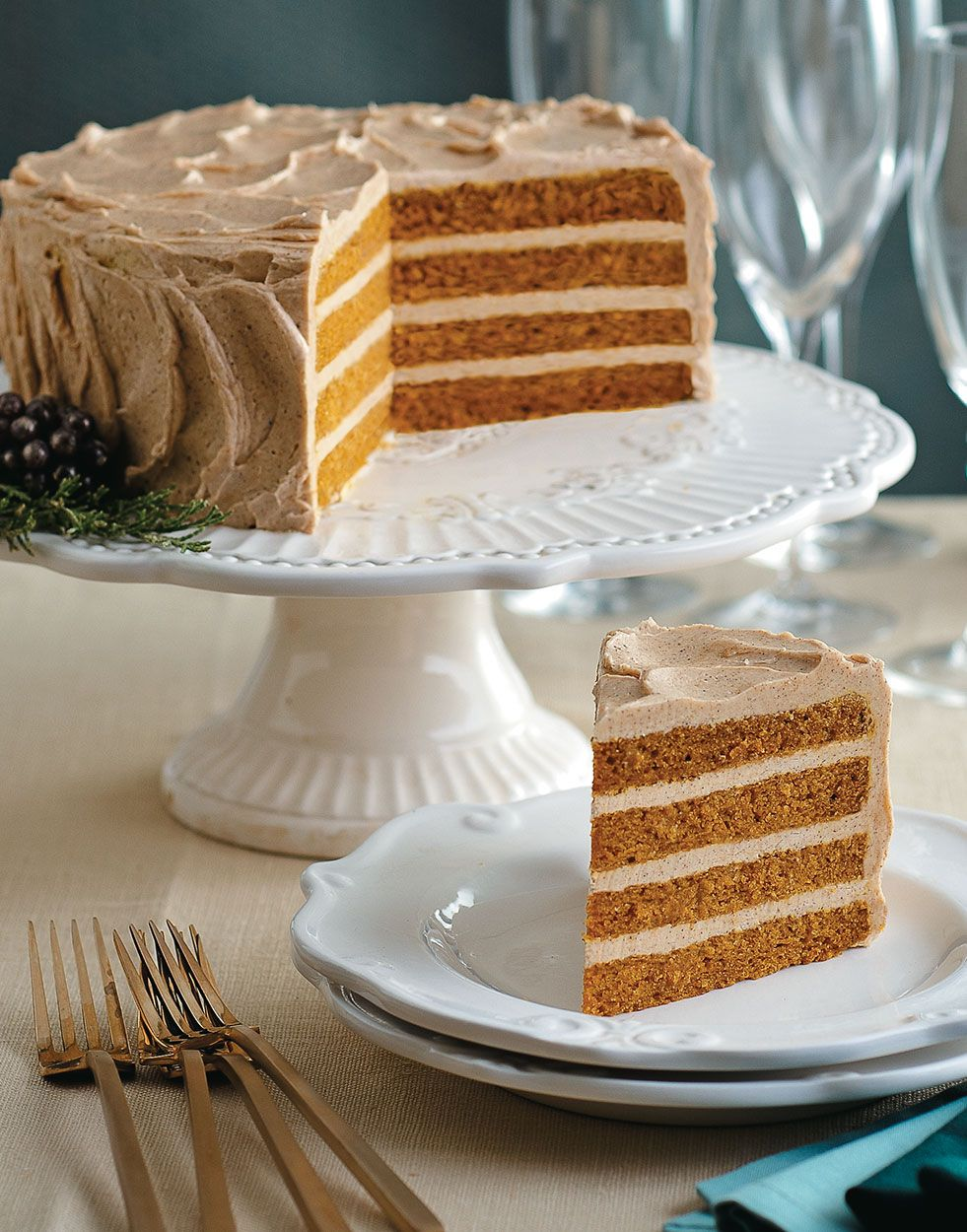 Photo of Chai-Spiced Italian Buttercream