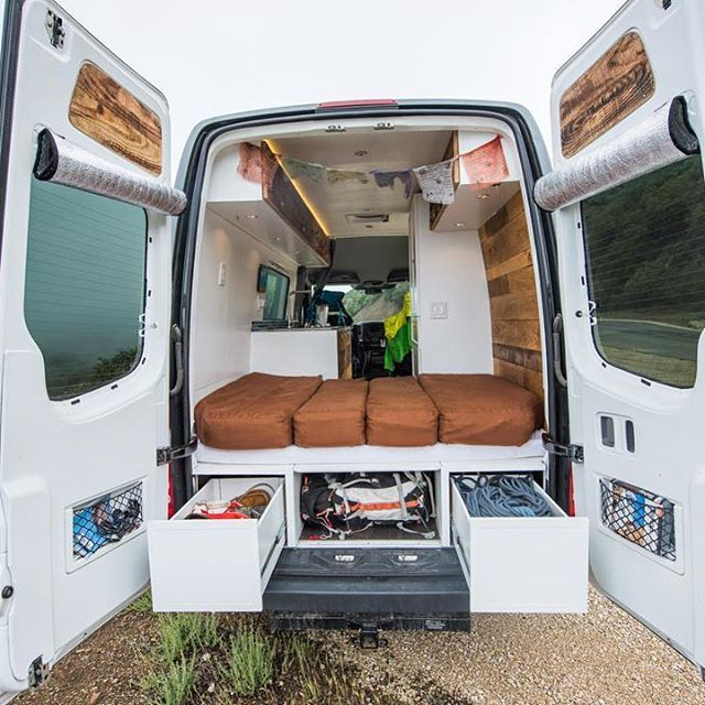 Ready For An Adventure Townsend Travel Trailers Mercedes VanConversion