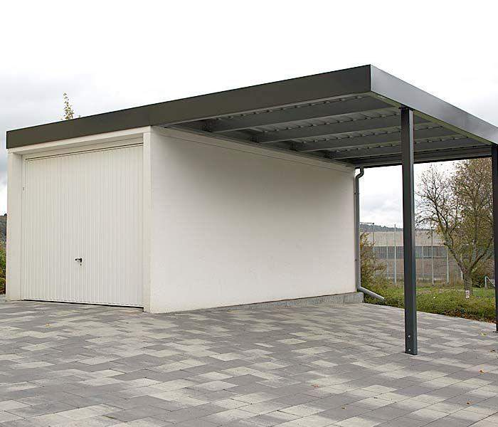 siebau anbaucarport beton21 carport pinterest carport garage und dachterrasse. Black Bedroom Furniture Sets. Home Design Ideas