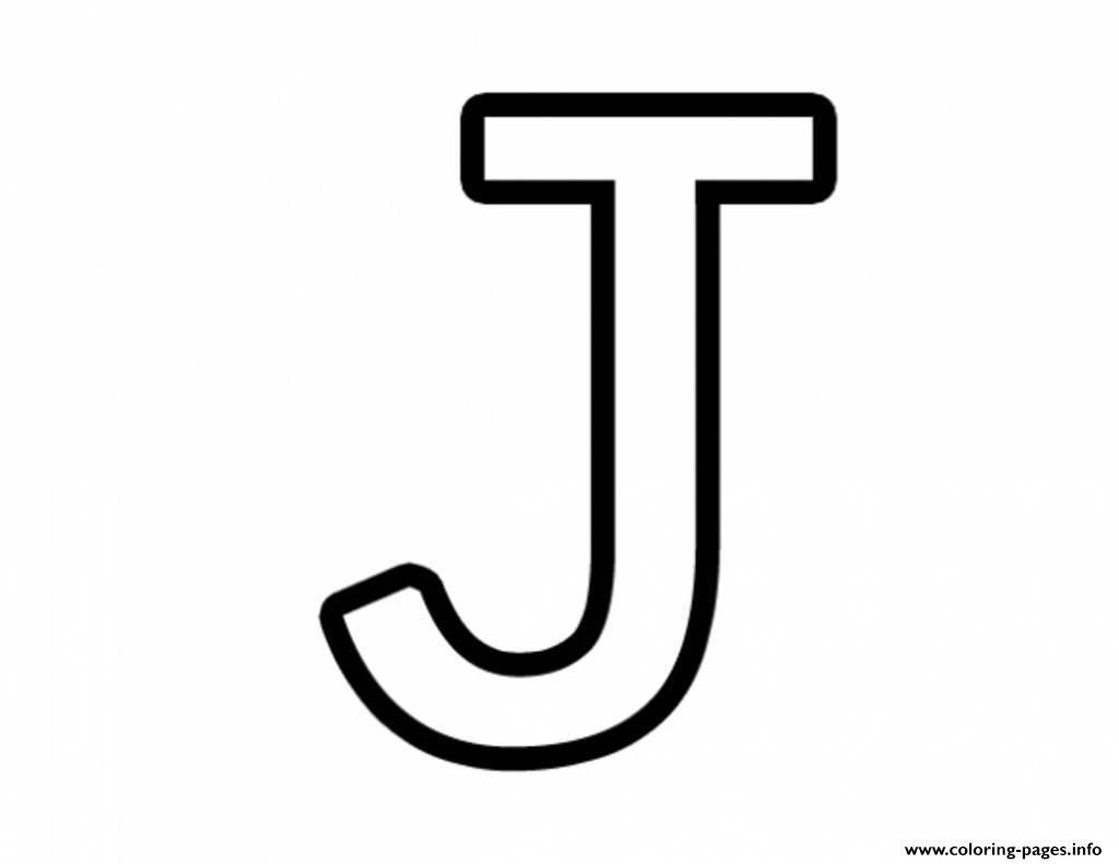 Print Letter J Free Alphabet 651a Coloring Pages Alfabetizacao Para Criancas Alfabeto Completo Para Imprimir Letra J