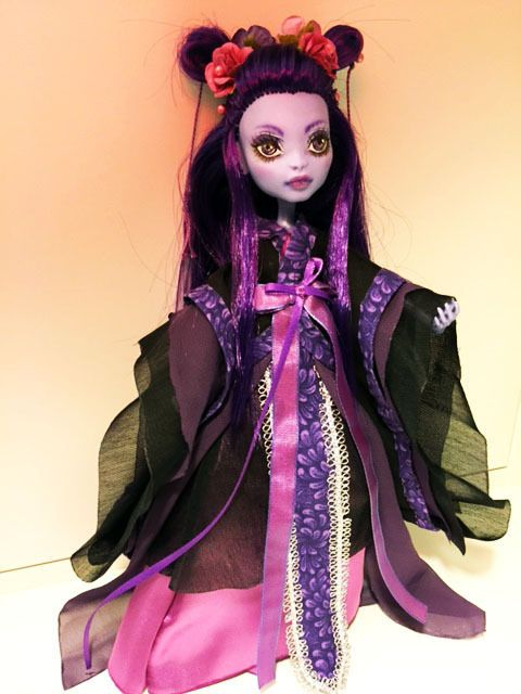 OOAK custom Monster High sea monster hanfu ~Soyoo~ #DollswithClothingAccessories