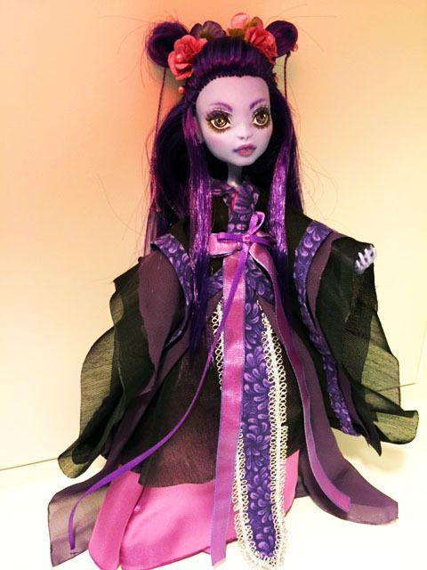 OOAK custom Monster High sea monster hanfu ~Soyoo~ #DollswithClothingAccessories