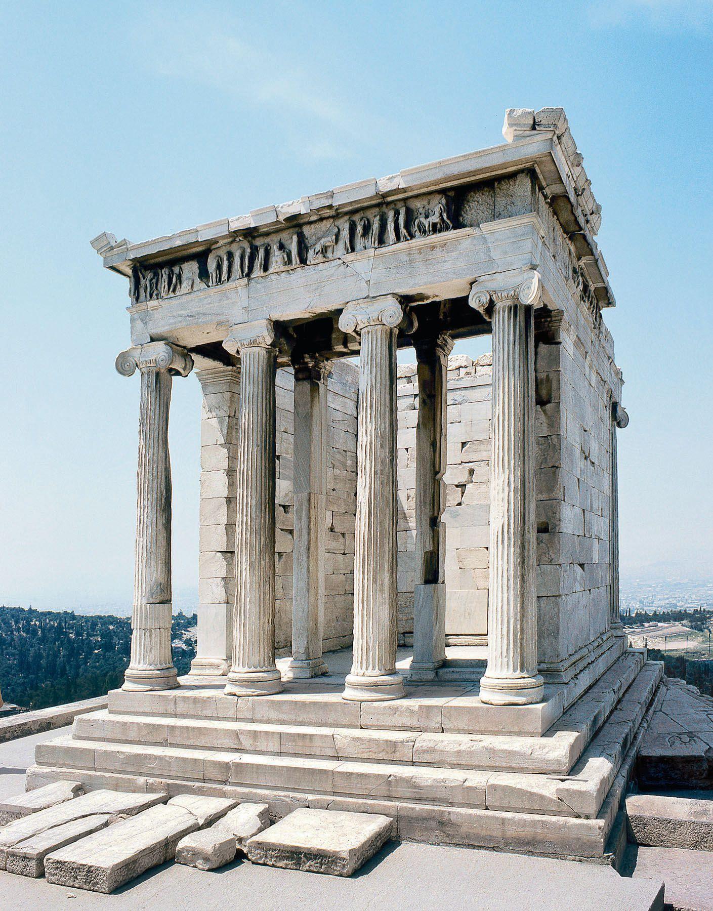 Nike jacket greece - Athena Nike Temple On The Acropolis Athens 427 424 Bc