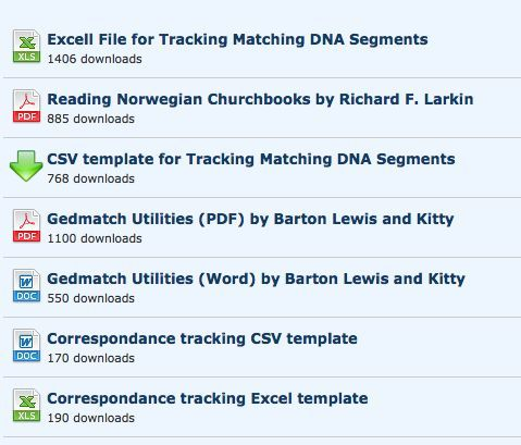 Excel templates for keeping track of Gedmatch matches and - comparison chart template word