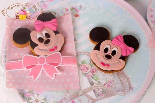 Marturii Botez Minnie Mouse Dulce By Vioricas Cakes Minnie