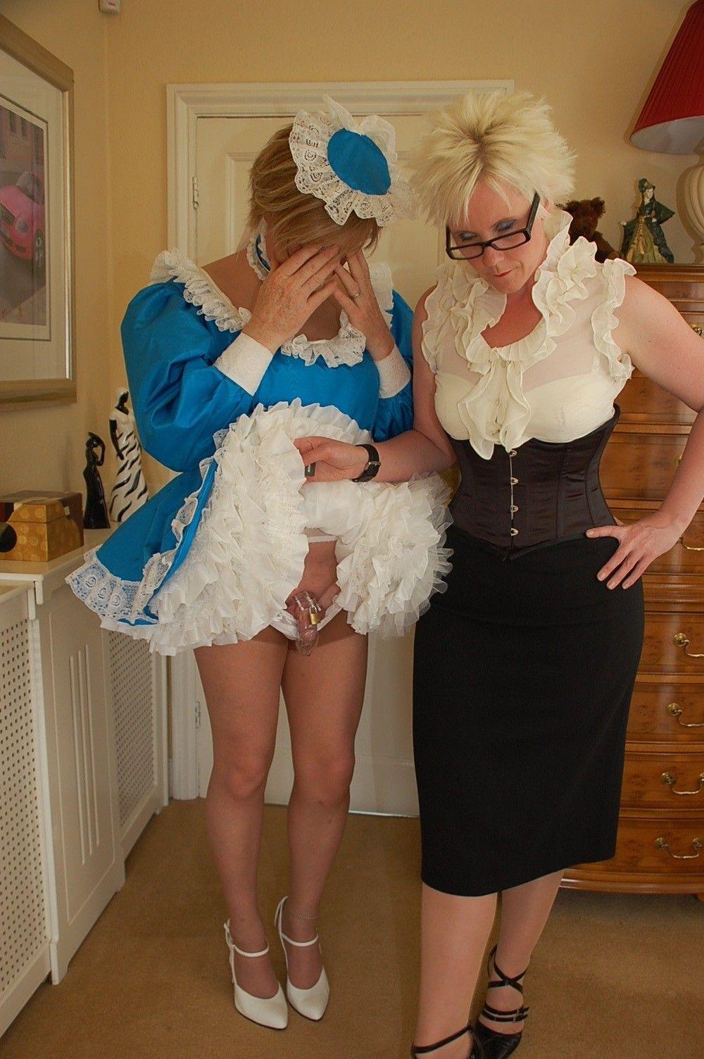 Sissy maid victoria