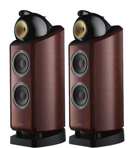 B W 802 Diamond Floorstanding Speakers They Retail For