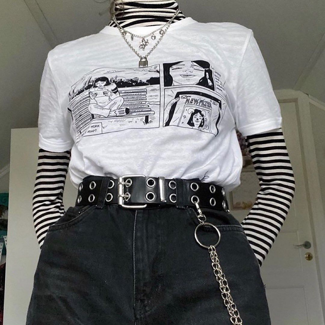 Aesthentials On Instagram Which Outfit Is Your Aesthetic 1 3 Tag A Friend Who D Love In 2020 Aesthetic Grunge Outfit Egirl Fashion Grunge Outfits