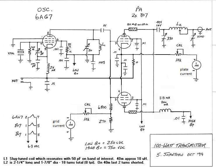 WD8DAS Homebrew Transmitter Page | Ham radio, Electronic ... on