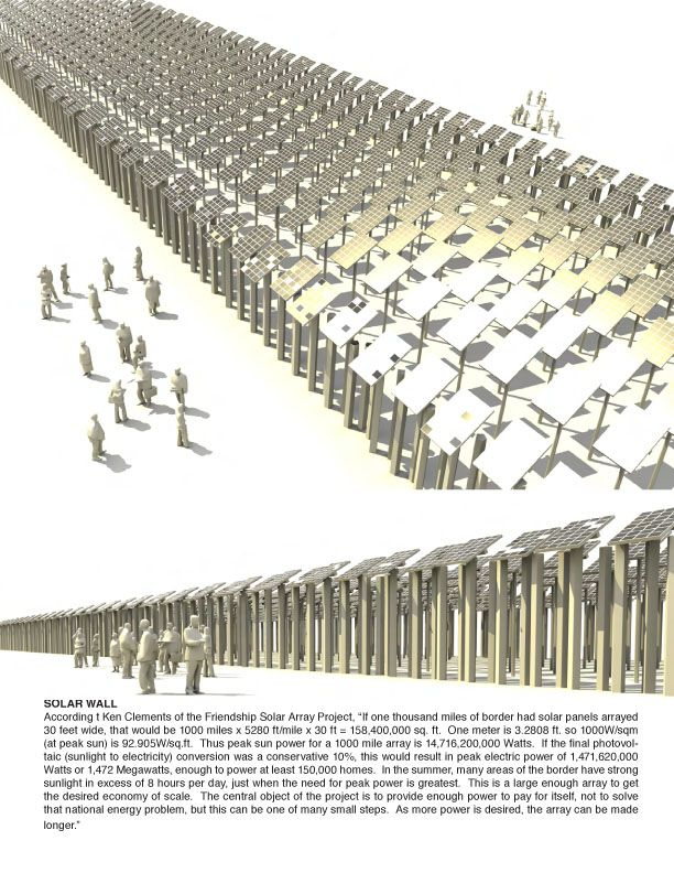 Image Result For Border Wall As Architecture Border