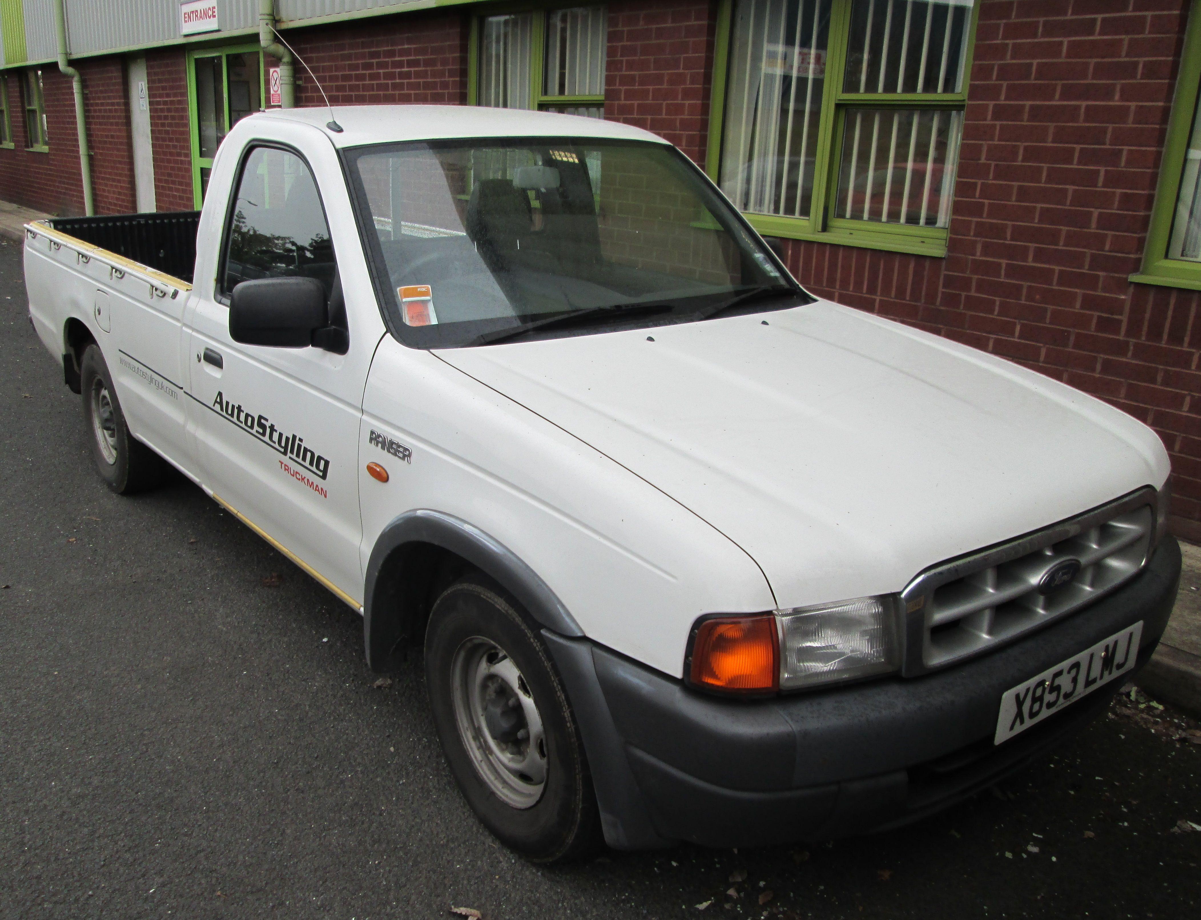 Ford Ranger Mk1 99 03 On Single Cab Ford Ranger Ranger Truck