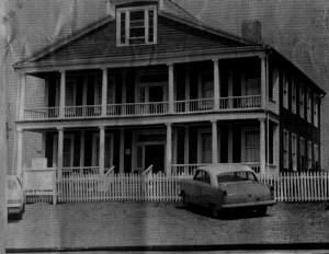 """The Old Slave House in the 1960's.  This is a really intense place to visit.  It's not too far from Harrisburg, Illinois.  It's a place where you can almost feel the """"spirits"""" around you.  Think it's closed now."""