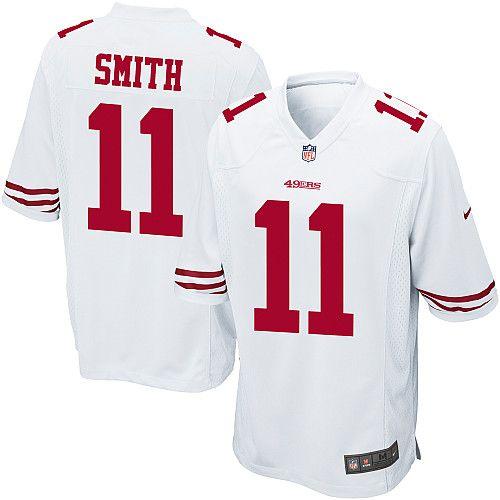 Nike San Francisco 49ers  11 Alex Smith Limited White Youth Stitched Jersey ef9e84eb0