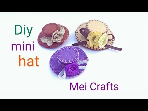 Diy: how to make a mini hat