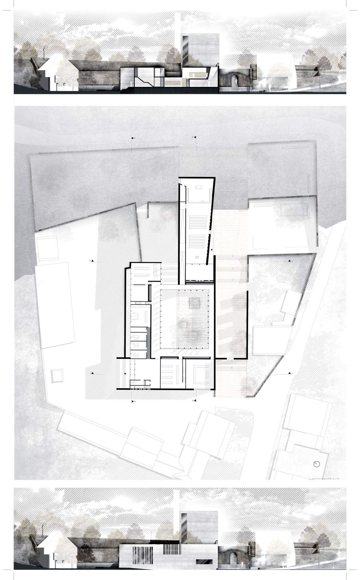 1 Preis Bereich Architektur Angelina Kuhnert