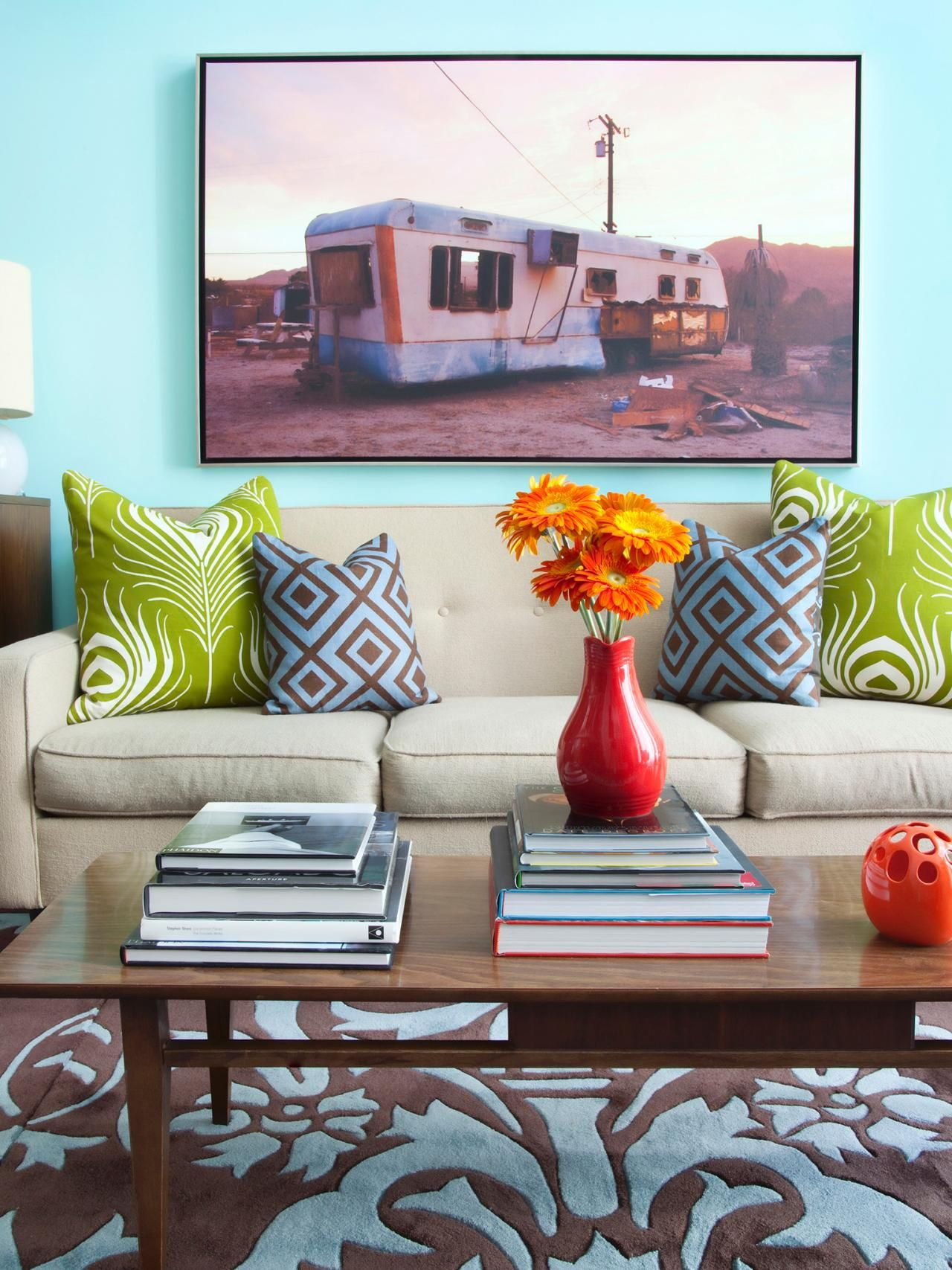 Design Trend Decorating With Blue  Hgtv Design Trends And Unique Choosing Living Room Furniture Design Decoration