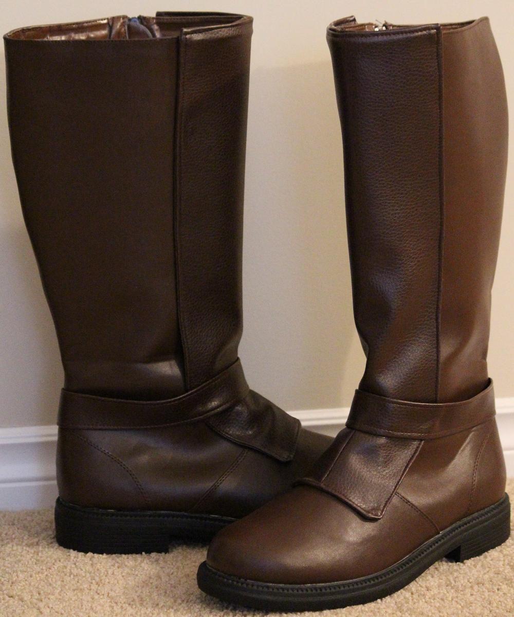 DIY jedi boots SW Costumes Robes, Belts etc FX Sabers