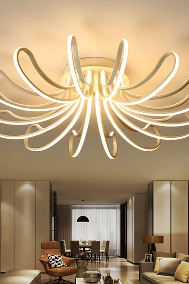 Waineg Designer Moderne Leddeckenleuchten Wohnzimmer Schlafzimmer Schlafzimmerlampe A Deckenlampe Led Wohnzimmer Led Wohnzimmerlampe Schlafzimmer Lampe