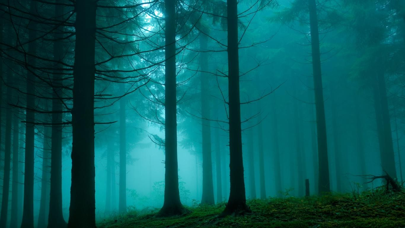 1366x768 blue green dark - photo #9