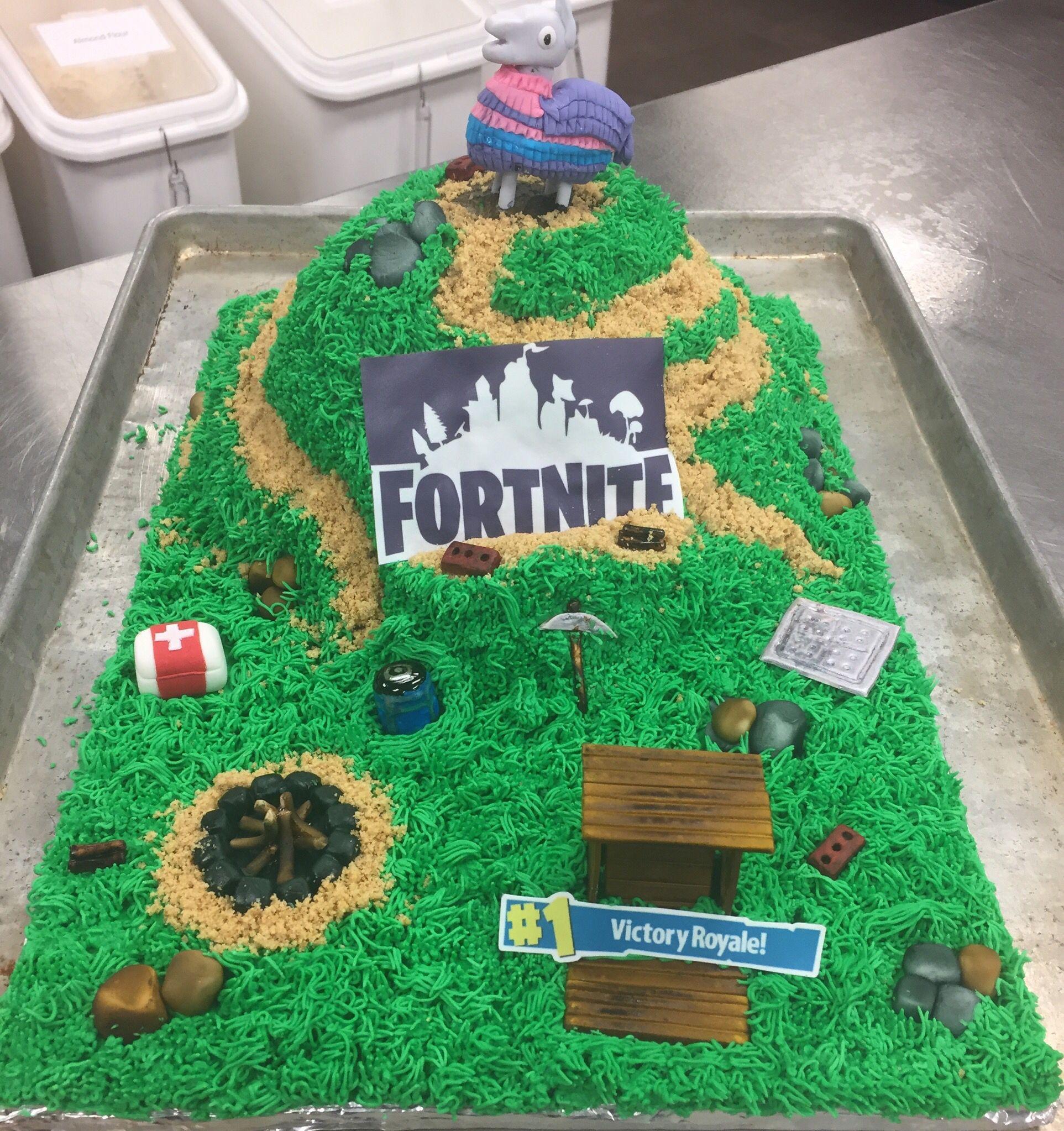 fortnite #cake  Birthday cake kids, My birthday cake, Thomas