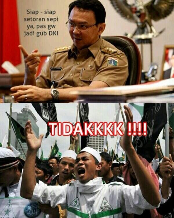 Ahok Fpi Lucu Lucuan Bahasa Indonesia Pinterest Politics