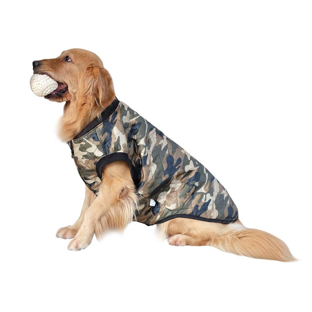 Innopet Large Dog Clothes Camo Dog Jacket Coat For Big Dogs Pet Warm Winter Vest Apparel Cute D In 2020 Large Dog Clothes Cute Dog Clothes Dog Clothes