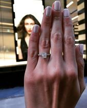 We are just above Sephora on 580 5th Avenue NYC 😱 the engagement ring feature...,  #5th #Avenue #Engagement #engagementringssimple #feature #NYC #Ring #Sephora