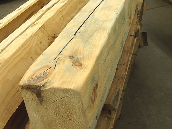 How To Turn New Wood Into Antique Beams Faux Wood Beams