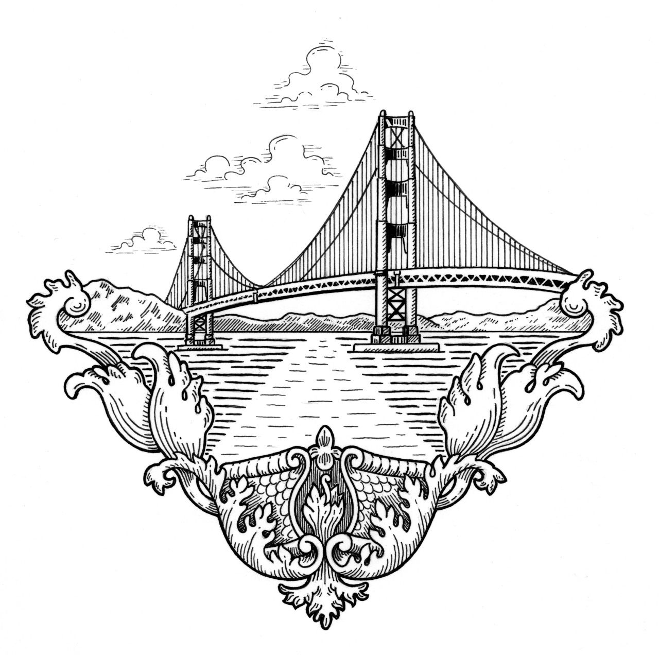 Matt Ritchie's Icons of San Francisco. This past