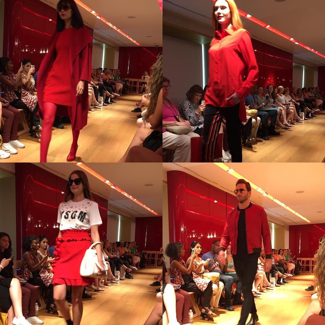 Red Is In For Fall Fashion Show At Galeries Lafayette Paris Red Paris Fashion Fashionshow Cochenilledesignstudio Cochenilledesignstudiosoftware I 2020