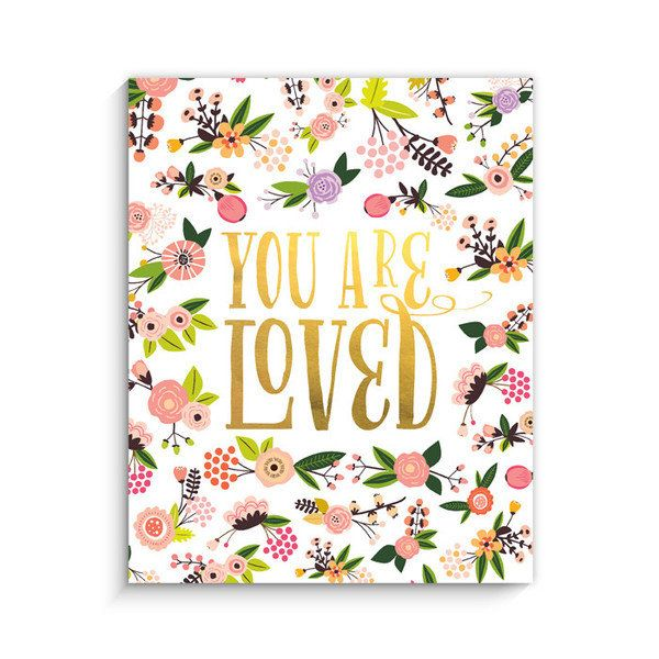 You Are Loved Hanging Art