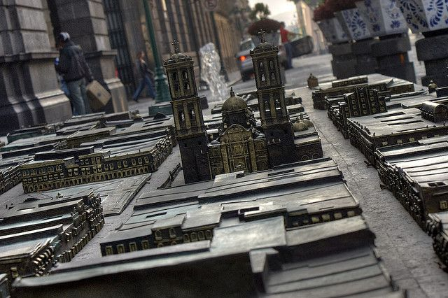 Maqueta del Centro de Puebla