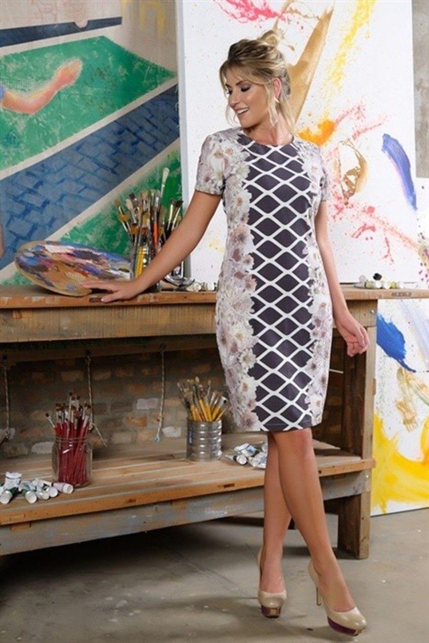 d4bc090d9 Vestido Maria da Cassia Segeti.✓Troca Grátis. ✓ Melhores marcas de moda  evangélica. ✓ Até 3x sem Juros