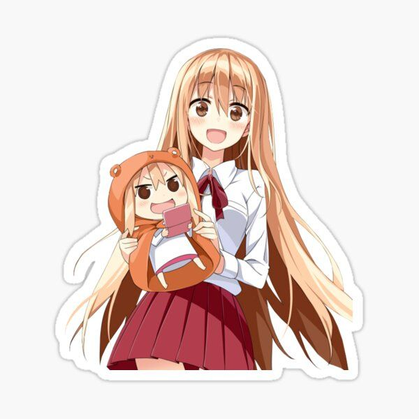 umaru doma sticker in 2021 stickers anime