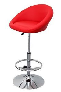 tabouret de bar miami rouge chaise fauteuil design | ebay | the ... - Chaise De Bar Rouge