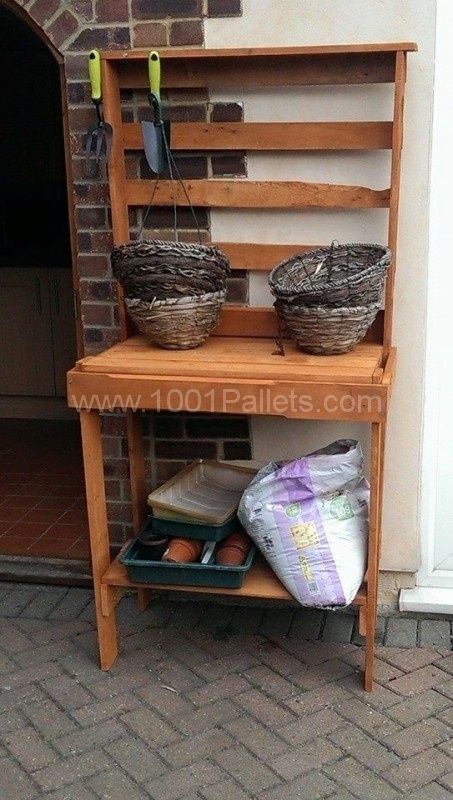 Pallet projects for the garden All of the projects were ...