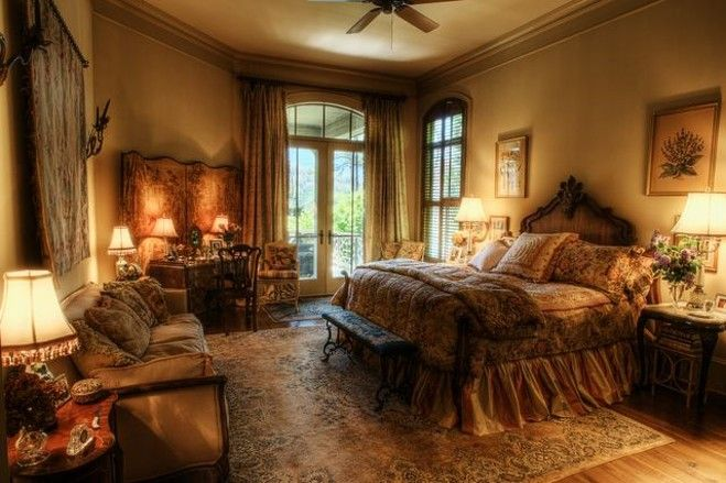Old World House On Lake Toxaway Tuscan Bedroom Bedroom Design Home