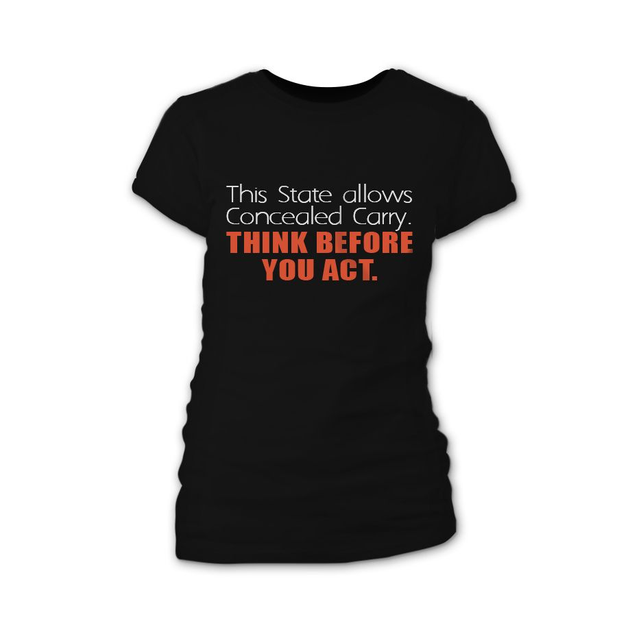Concealed carry concealed carry clothing womens tees