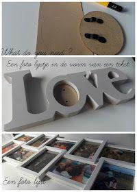 Elleke Emma: DIY: Fotolijst met Love