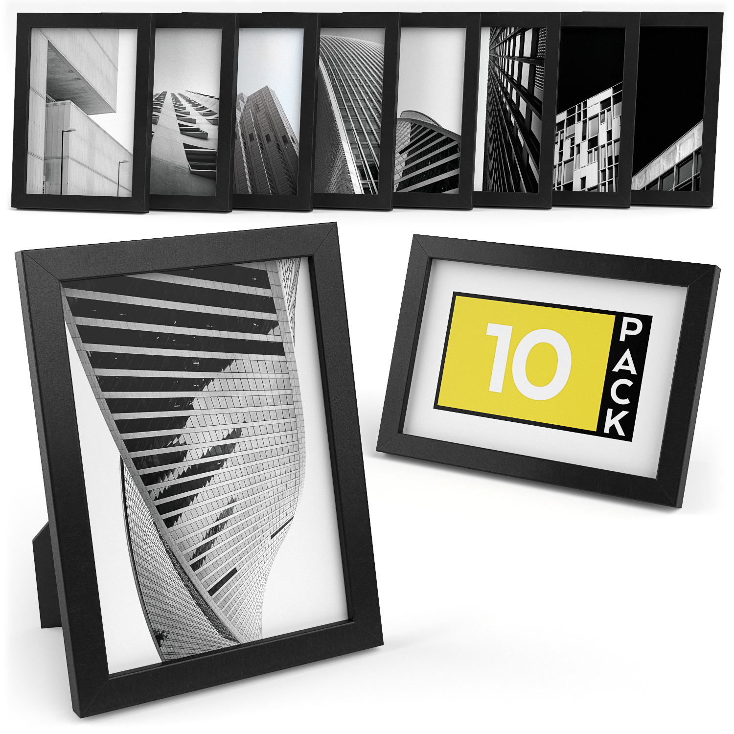 Premium Picture Frame 5x7 Pack Of 10 Products In 2019 Picture Frames Frame Wooden Picture Frames